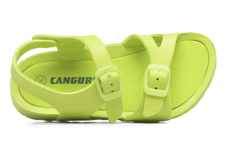 Sandales et nu-pieds Canguro Beach Sandals Vert vue derrière