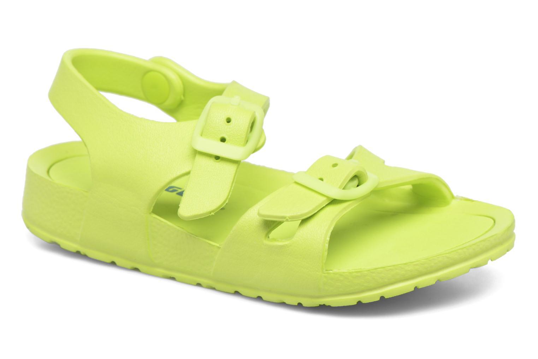 Sandales et nu-pieds Canguro Beach Sandals Vert vue détail/paire