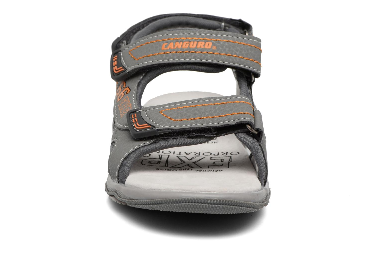 Sandales et nu-pieds Canguro Pablo Sandals Gris vue portées chaussures