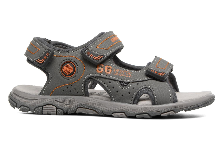 Sandales et nu-pieds Canguro Pablo Sandals Gris vue derrière