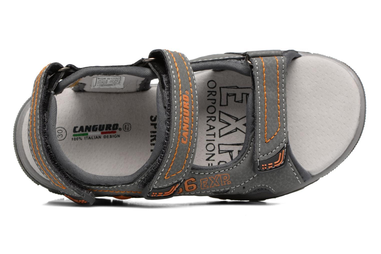 Sandales et nu-pieds Canguro Pablo Sandals Gris vue gauche