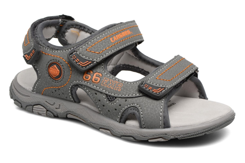 Sandales et nu-pieds Canguro Pablo Sandals Gris vue détail/paire