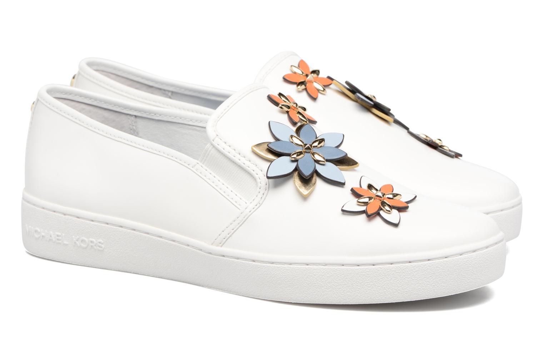 Sneakers Michael Michael Kors Heidi Slip On Bianco immagine 3/4
