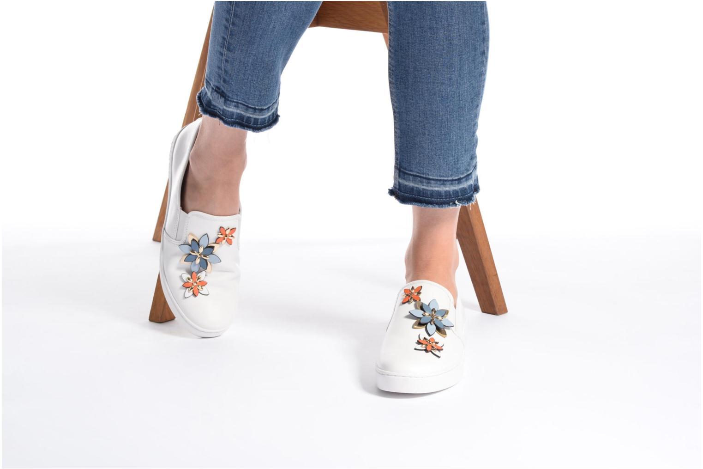 Sneakers Michael Michael Kors Heidi Slip On Bianco immagine dal basso