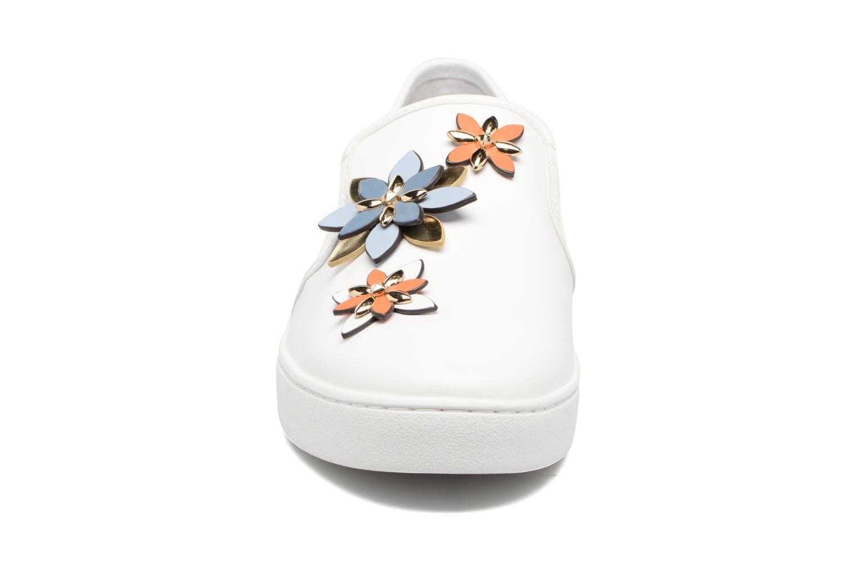 Sneakers Michael Michael Kors Heidi Slip On Bianco modello indossato