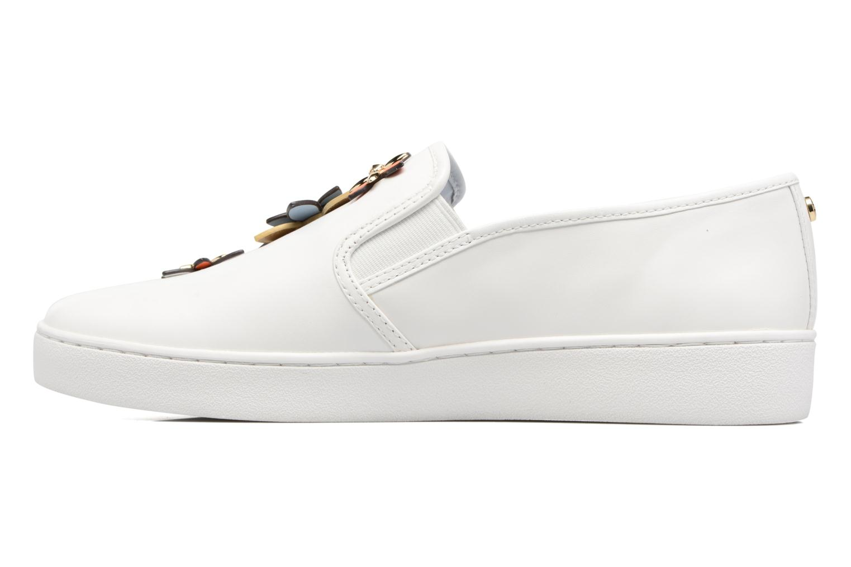 Sneakers Michael Michael Kors Heidi Slip On Bianco immagine frontale