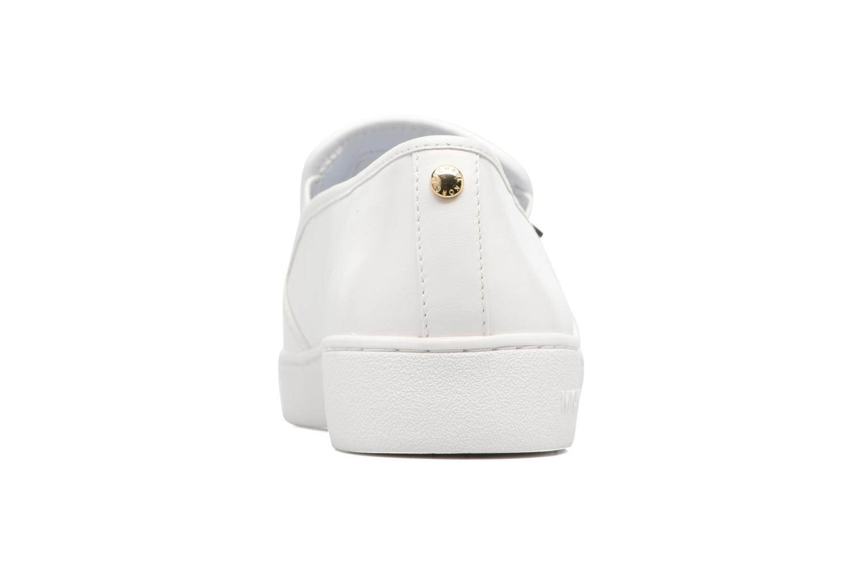 Sneakers Michael Michael Kors Heidi Slip On Bianco immagine destra