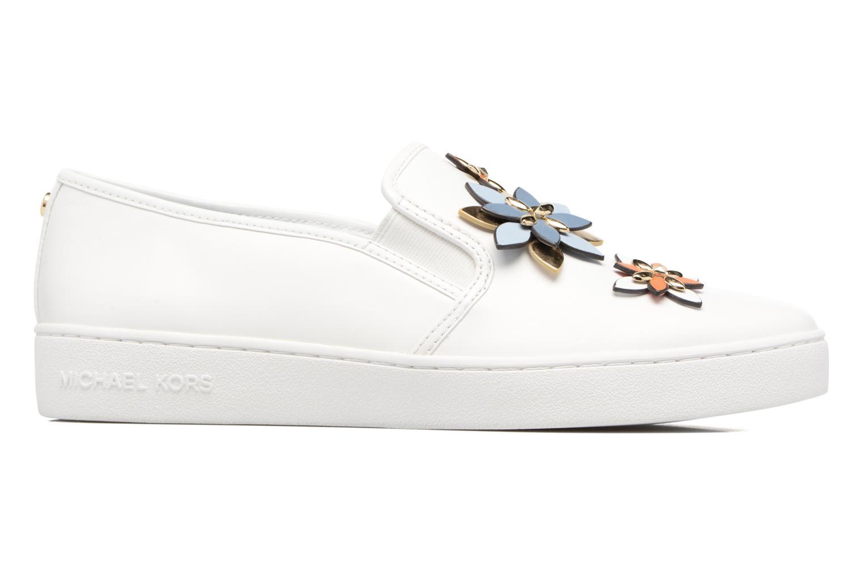 Sneakers Michael Michael Kors Heidi Slip On Bianco immagine posteriore