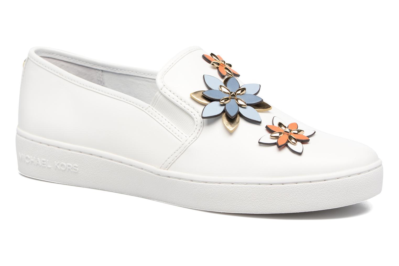 Sneakers Michael Michael Kors Heidi Slip On Bianco vedi dettaglio/paio