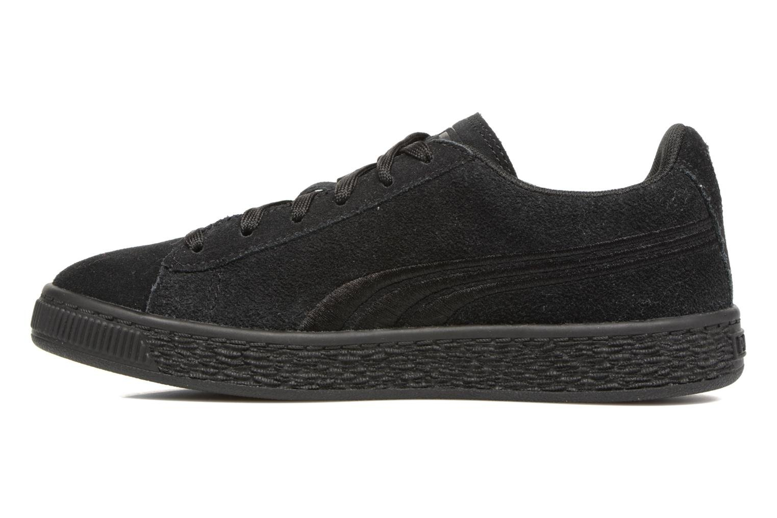 Baskets Puma Suede Classic Badge Jr Noir vue face