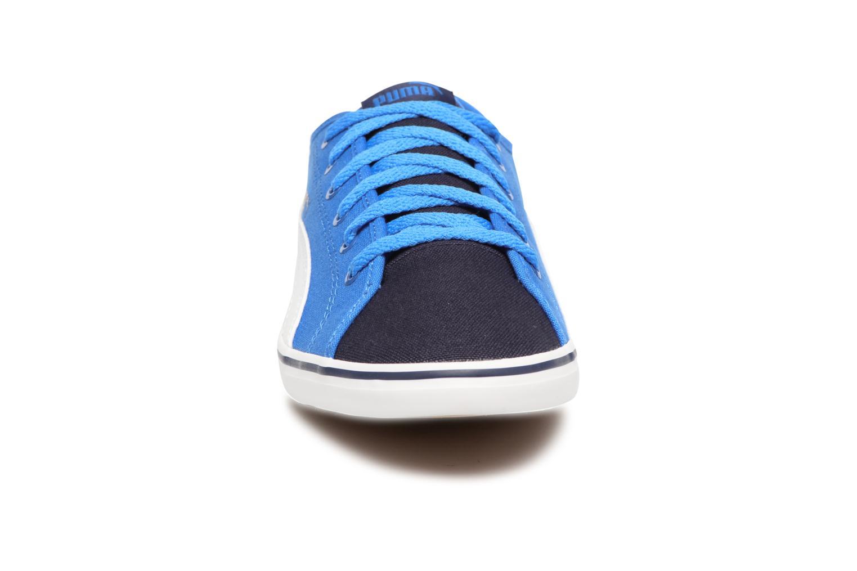 Baskets Puma Elsu v2 CV Jr Bleu vue portées chaussures