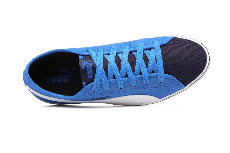 Baskets Puma Elsu v2 CV Jr Bleu vue gauche
