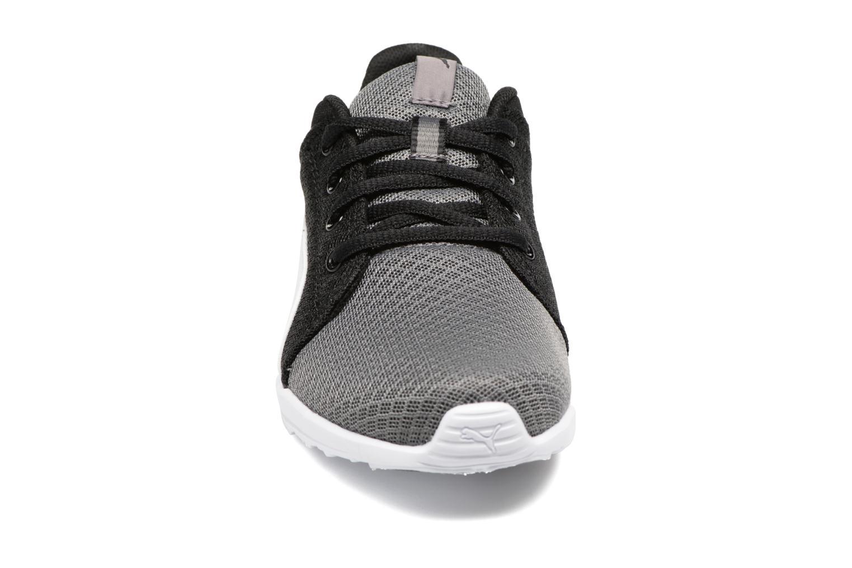 Baskets Puma Carson Runner 400 Mesh Jr Noir vue portées chaussures