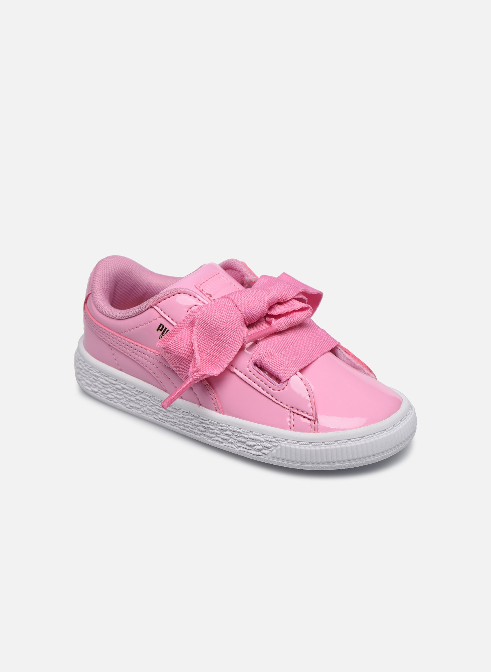 puma basket heart rosa kinder