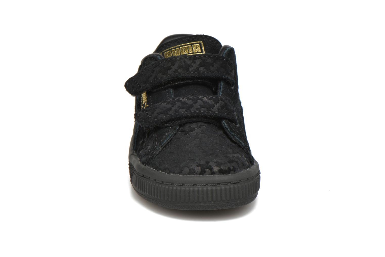 Baskets Puma Suede Batman FM V Inf Noir vue portées chaussures