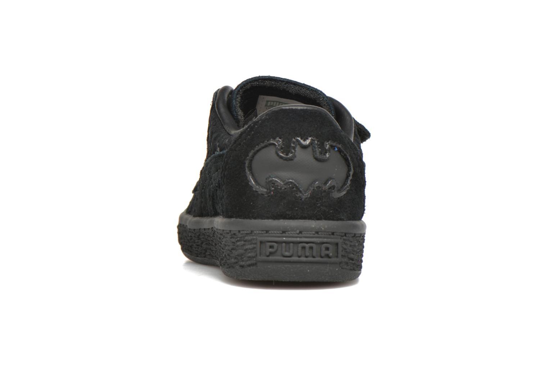 Baskets Puma Suede Batman FM V Inf Noir vue droite
