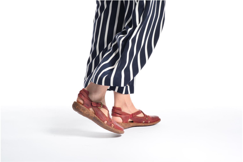 Sandales et nu-pieds Josef Seibel Rosalie 13 Marron vue bas / vue portée sac