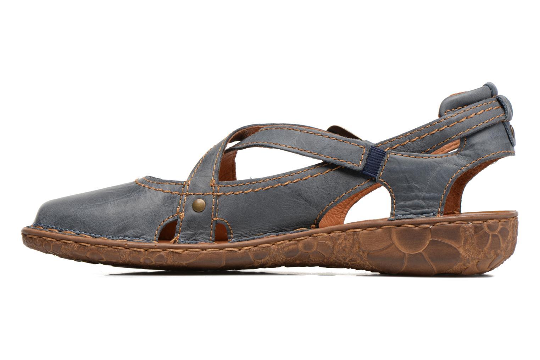 Sandales et nu-pieds Josef Seibel Rosalie 13 Bleu vue face