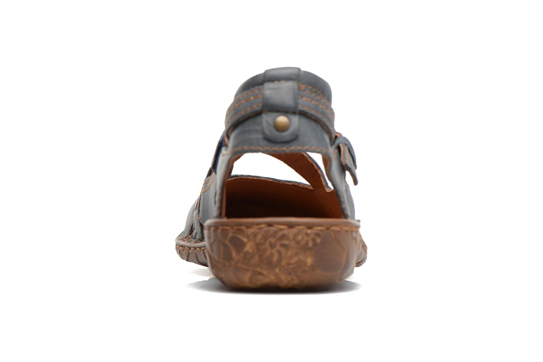 Sandales et nu-pieds Josef Seibel Rosalie 13 Bleu vue droite