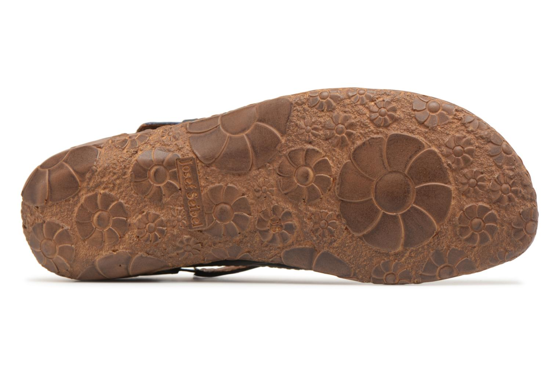Sandales et nu-pieds Josef Seibel Rosalie 13 Bleu vue haut
