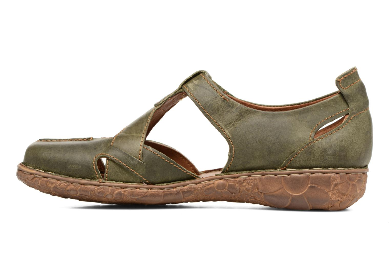 Sandales et nu-pieds Josef Seibel Rosalie 21 Vert vue face
