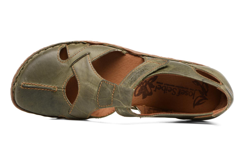 Sandales et nu-pieds Josef Seibel Rosalie 21 Vert vue gauche