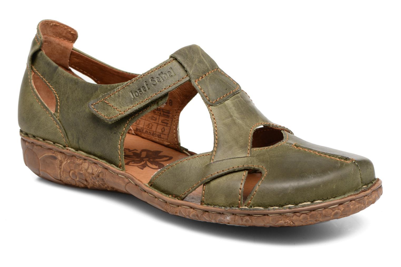 Sandales et nu-pieds Josef Seibel Rosalie 21 Vert vue détail/paire
