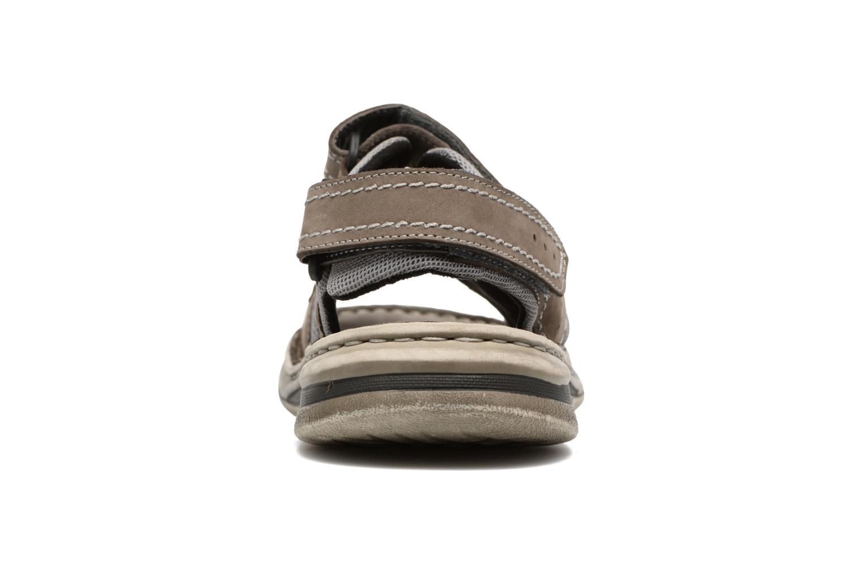 Sandales et nu-pieds Josef Seibel Max 03 Gris vue droite