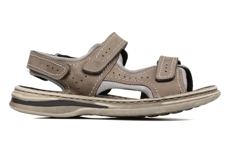 Sandales et nu-pieds Josef Seibel Max 03 Gris vue derrière