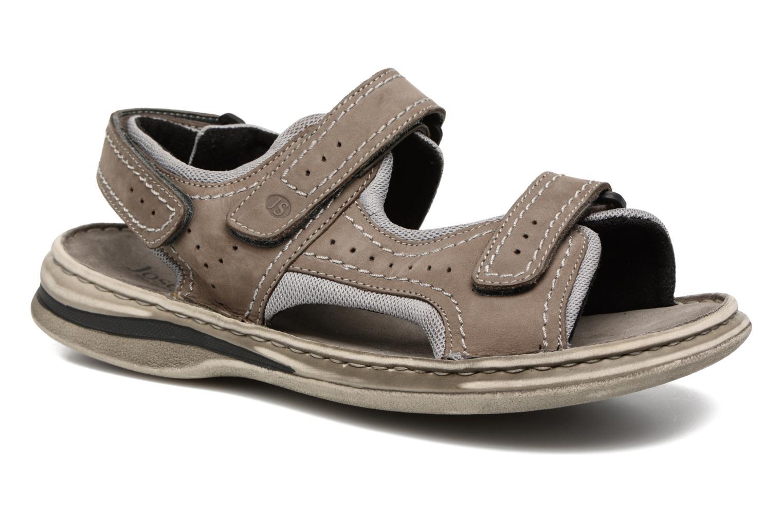 Sandales et nu-pieds Josef Seibel Max 03 Gris vue détail/paire