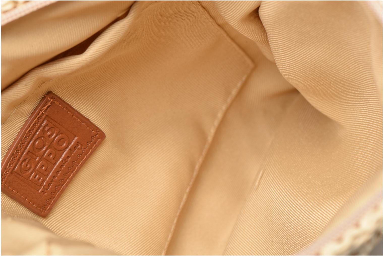 Sacs pochettes Gioseppo DINKA Or et bronze vue derrière