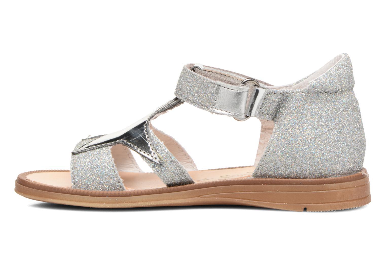 Sandales et nu-pieds Acebo's Sofia Argent vue face