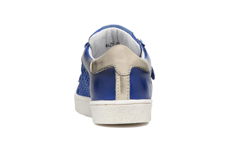Baskets Acebo's Ricardo Bleu vue droite