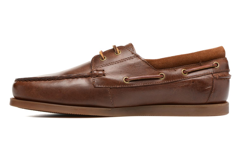Chaussures à lacets Polo Ralph Lauren Dayne-Shoe-Casual Marron vue face