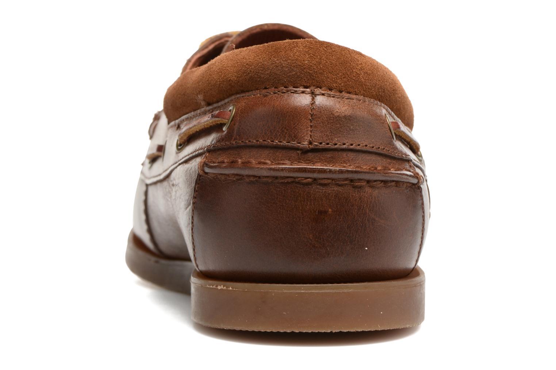 Chaussures à lacets Polo Ralph Lauren Dayne-Shoe-Casual Marron vue droite