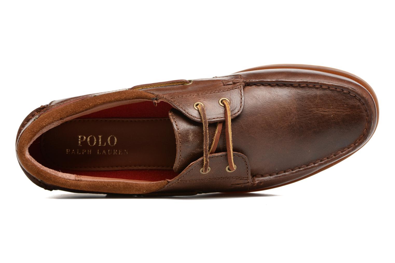 Chaussures à lacets Polo Ralph Lauren Dayne-Shoe-Casual Marron vue gauche
