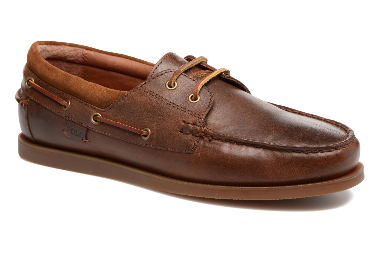 Chaussures à lacets Polo Ralph Lauren Dayne-Shoe-Casual Marron vue détail/paire
