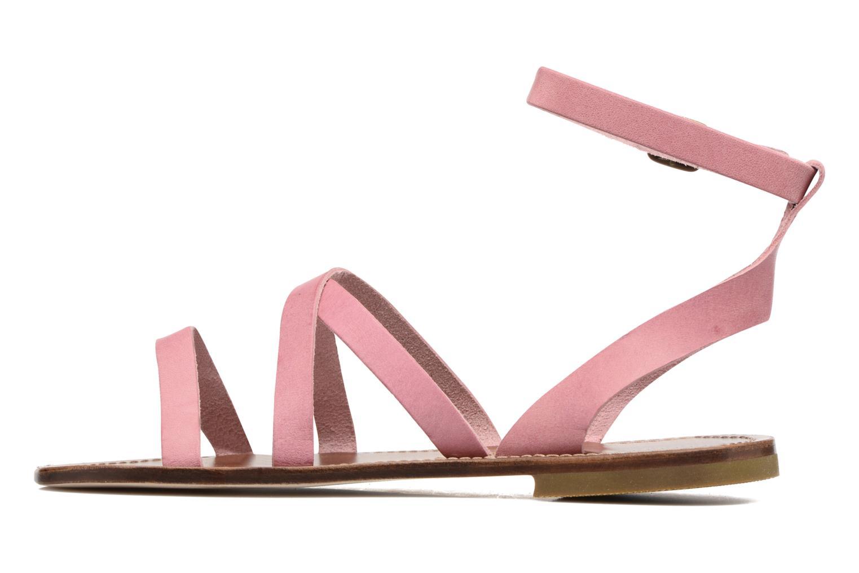 Sandales et nu-pieds PèPè Alma Rose vue face