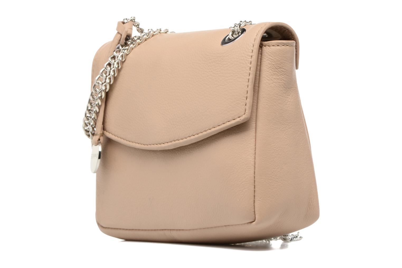 Handtassen Esprit Chain leather Beige model