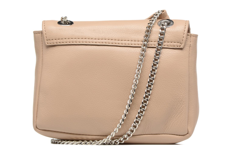 Handtassen Esprit Chain leather Beige voorkant