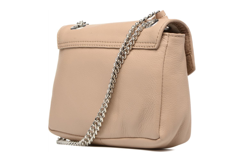Sacs à main Esprit Chain leather Beige vue droite