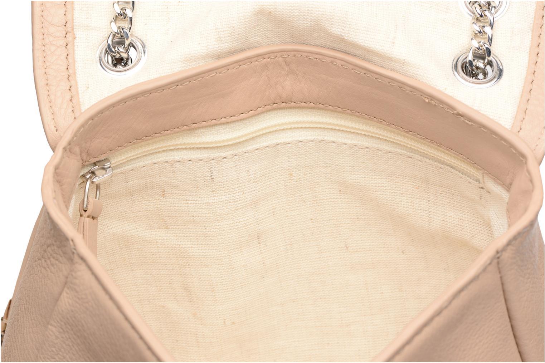 Handtassen Esprit Chain leather Beige achterkant