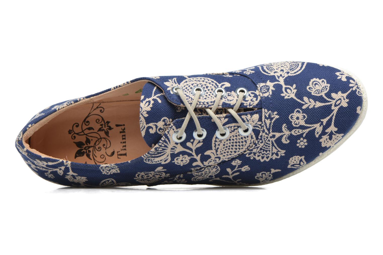 Chaussures à lacets Think! Shua 80036 Bleu vue gauche