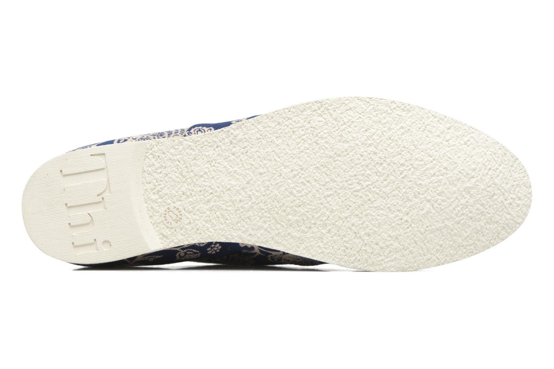 Chaussures à lacets Think! Shua 80036 Bleu vue haut