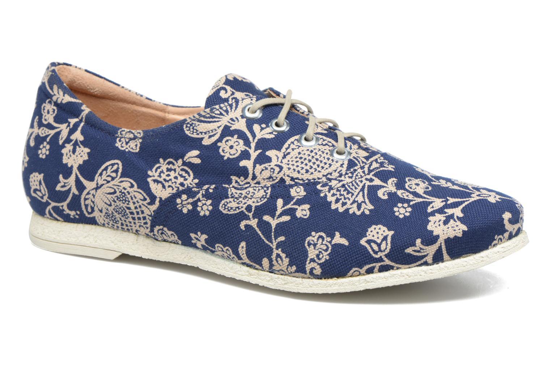 Chaussures à lacets Think! Shua 80036 Bleu vue détail/paire