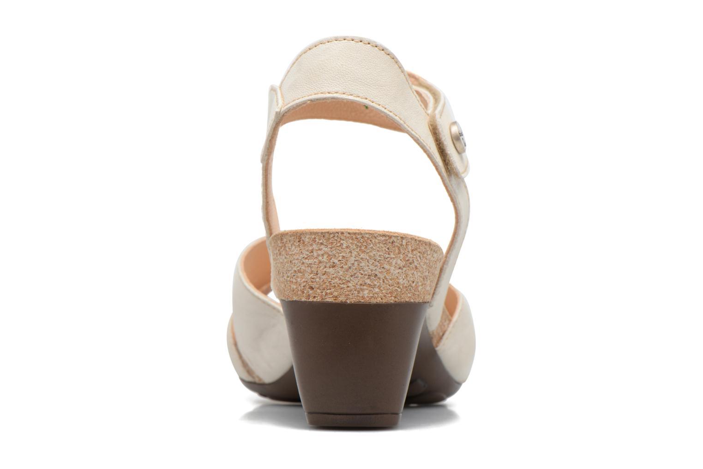 Sandales et nu-pieds Think! Traudi 80574 Blanc vue droite