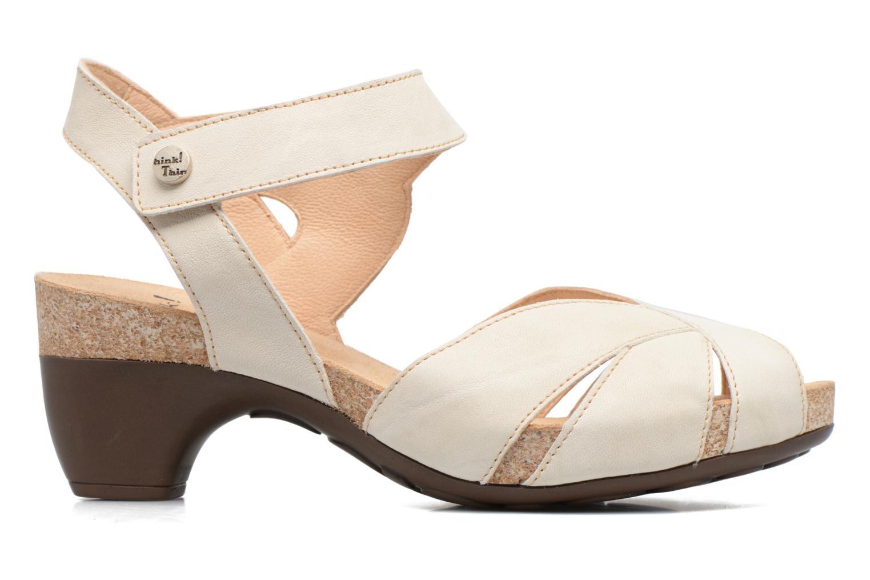 Sandales et nu-pieds Think! Traudi 80574 Blanc vue derrière