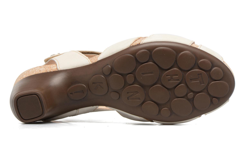 Sandales et nu-pieds Think! Traudi 80574 Blanc vue haut