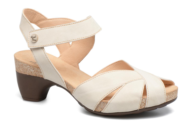 Sandales et nu-pieds Think! Traudi 80574 Blanc vue détail/paire