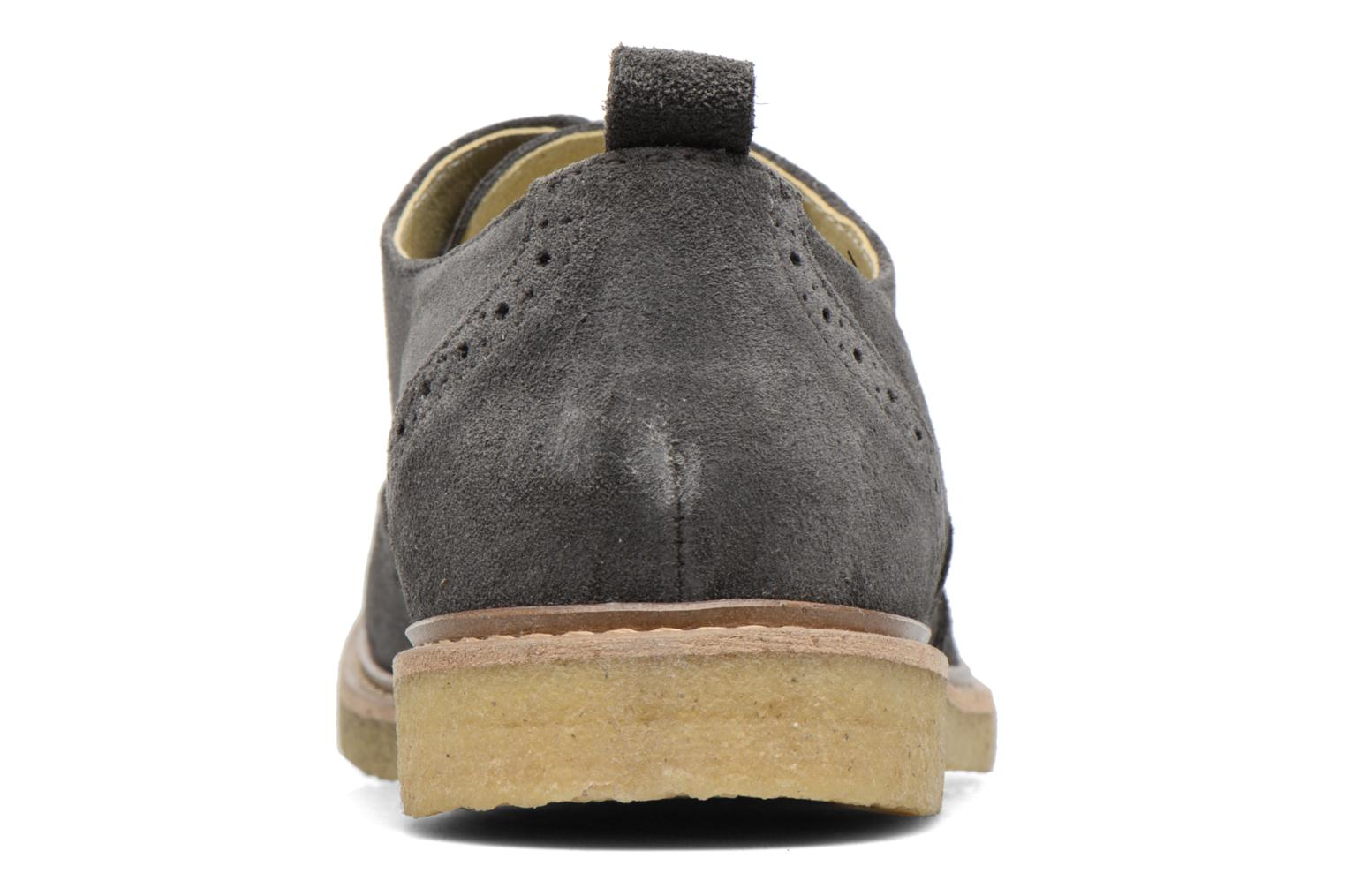 Paul M Suede Dark Grey 141